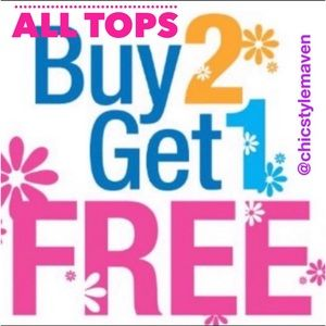 Tops - 👚All tops BUY TWO GET ONE FREE👚